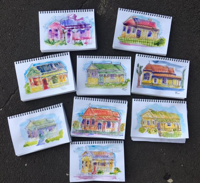 New sketchers  Tues 28th Feb, Fri 3rd,Sat 4th March