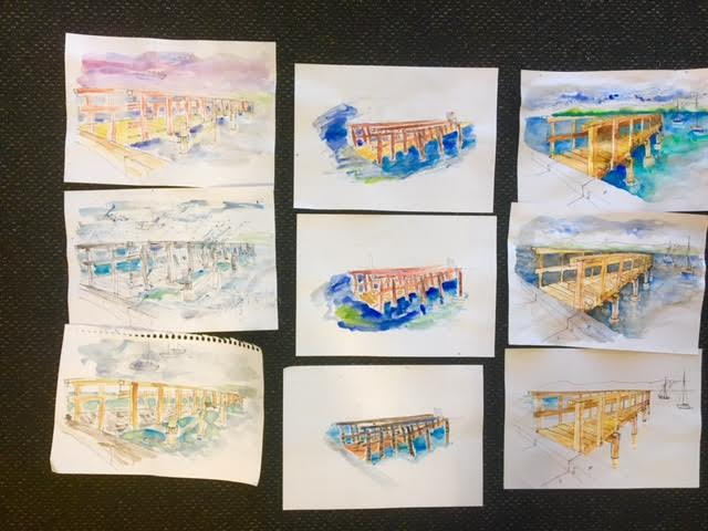 General Sketchers Class Monday 23rd, Tuesday 24th, Friday 27th and Saturday 28th July 2018