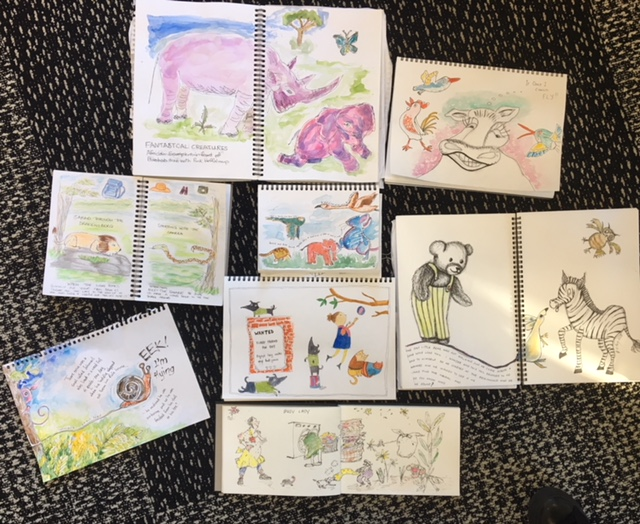 General Sketchers Class Monday 6th, Tuesday 7th, Friday 10th and Saturday 11th August 2018