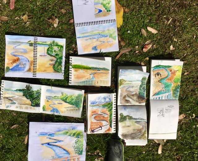 General Sketchers Class Monday 19th, Tuesday 20th, Friday 23th and Saturday 24th November 2018