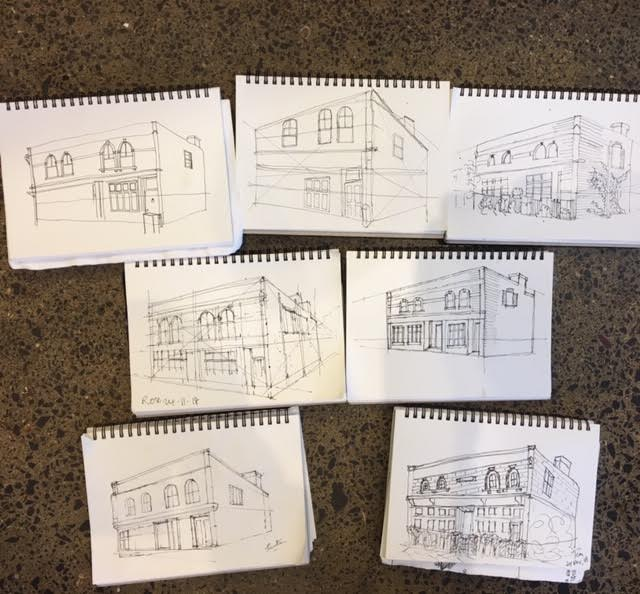 New Sketchers Class Tuesday 20th and Saturday 24th November 2018