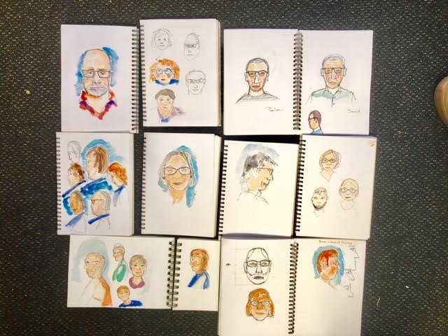 New Sketchers Class Tuesday 27th November and Saturday 1st December 2018