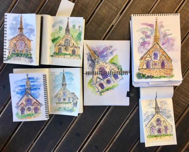General Sketchers Class Monday 4th, Tuesday 5th and Saturday 9th March 2019